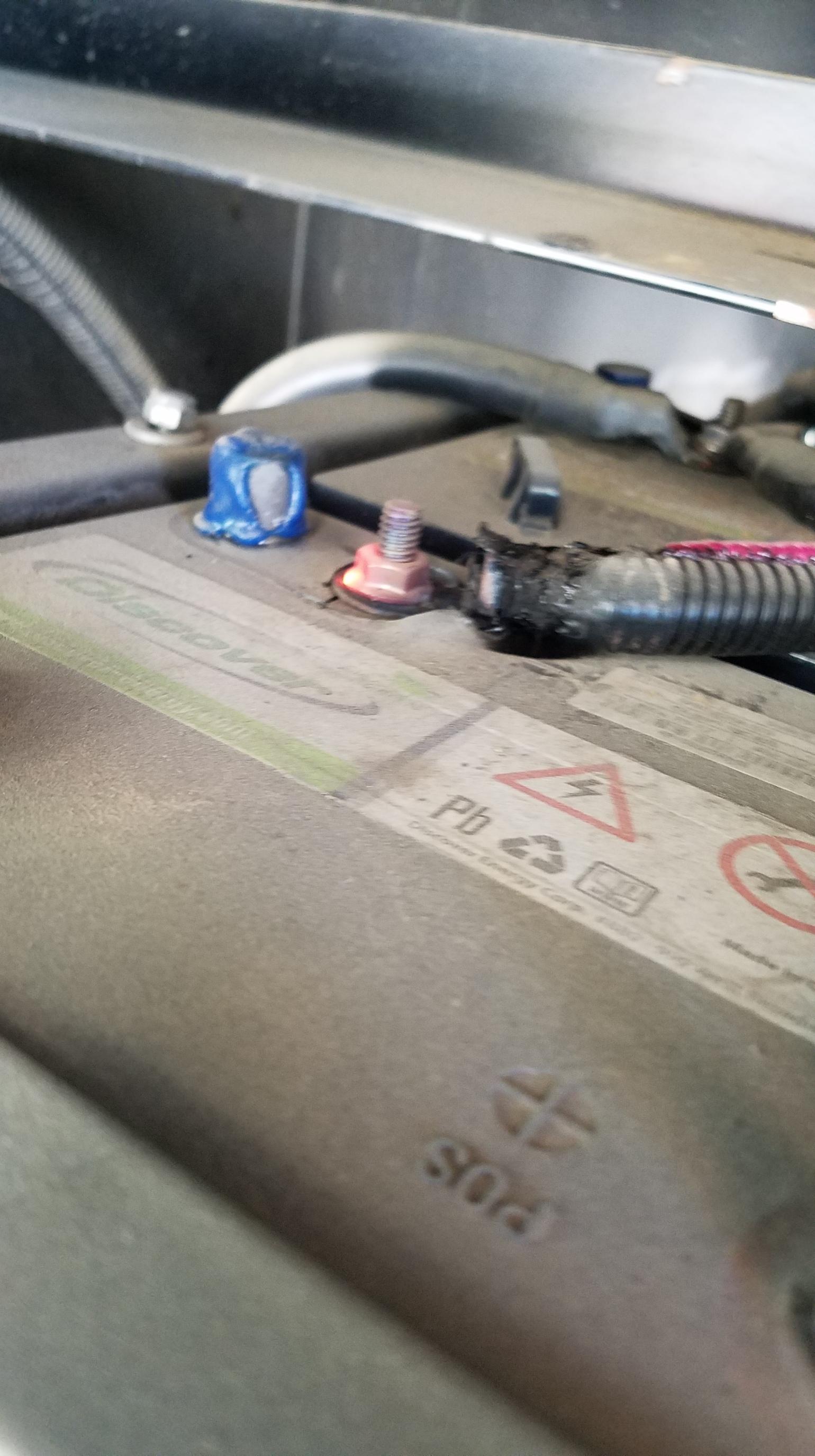 Hot Battery lead